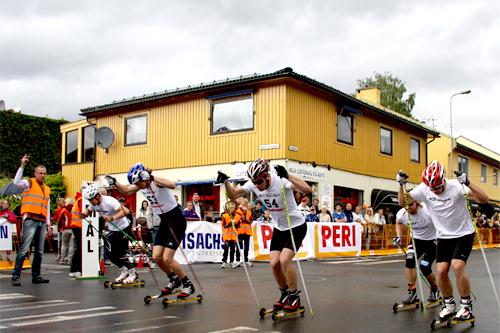 Illustrasjonsbilde fra rulleskisprint. Foto: Geir Nilsen/Langrenn.com.