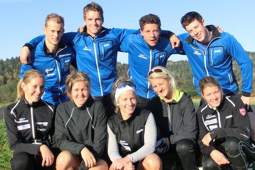 Team Hovden 2011-12. TRygve Henden Gaasø og Svein Halvor Dahl er ikke tilstede. Foto: Privat