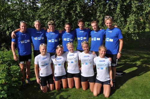 Team Trøndelag 2011-12. Foto: Privat