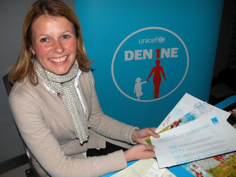 Anne Britt Horn Hanssen fra Unicef