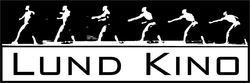 Lund kino logo svart hvitt