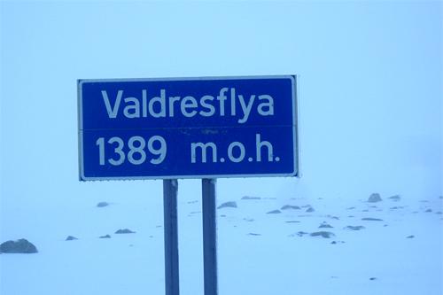 Valdresflya 3. november 2011. Foto: Rolf Kjetil Gulbrandsen / Beitosprinten.