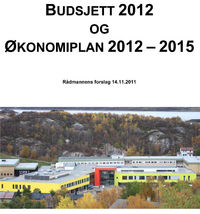Budsjett og økonomiplan 2012-2015 Rådmannens forslag 14 nov 2011 forsiden