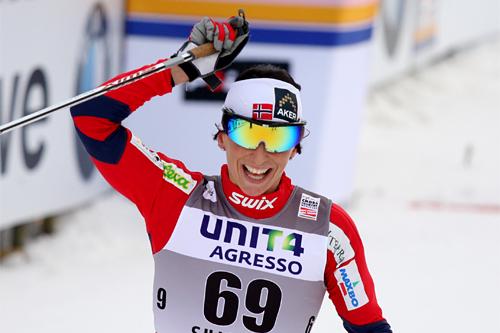 Marit Bjørgen er Norges mest populære utøver. Foto: Geir Nilsen/Langrenn.com.