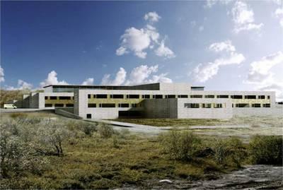 Illustrasjon  2 Nye Kirkenes Sykehus  [ 1]