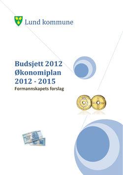 Formannskapets forslag budsjett2012 - økonomiplan 2012 - 2015 - v1-1