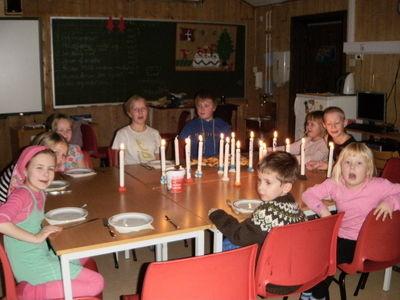 finsk nasjonaldag på skogfoss