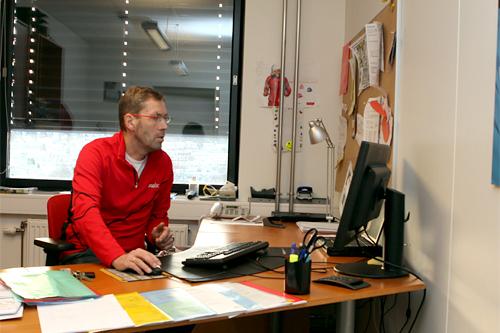Ulf Bjerknes. Foto: Erik Borg.