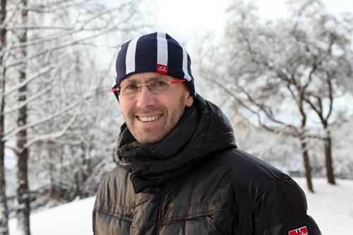 Ulf Bjerknes, adm. dir. i Swix Sport. Foto: Erik Borg.