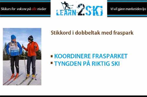 Learn2ski - Teknikk-DVD.