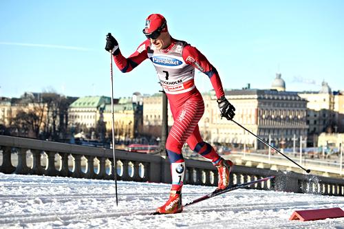 John Kristian Dahl på verdenscupsprinten i Stockholm 2011. Foto: Felgenhauer/NordicFocus.