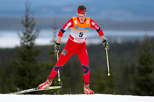 Kristina Tettli Rennemo i verdenscupen på Sjusjøen 2011. Foto: Laiho/NordicFocus.