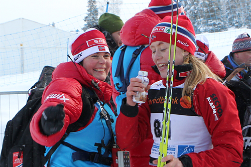 Brit Baldishol var i 2011 med på en utrolig norsk suksess under junior-VM i Estland. Jentene tok nesten samtlige medaljer. Guttene var heller ikke direkte beskjedne. Foto: Erik Borg.