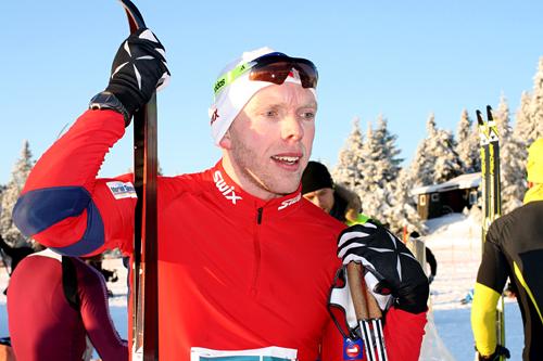 Tommy Åsen vant Romjulsrennet 2011 på Sjusjøen med 15 sekunder. Foto: Dorte Finstad.