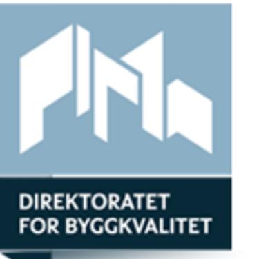 Logo til Direktoratet for byggkvalitet