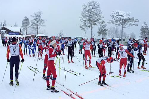 Vikerfjelløpet 2012. Arrangørfoto.