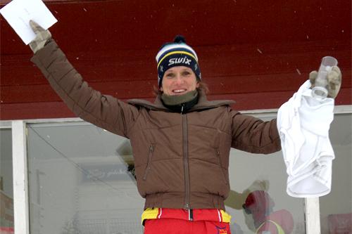 May Bente Weng fra IL BUL var ustoppelig i Stenfjellrunden 2012 og var beste av samtlige damer. Arrangørfoto.