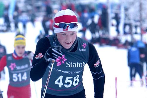 Gjøran Tefre underveis i norgescupen på Lygna. Foto: Erik Borg.