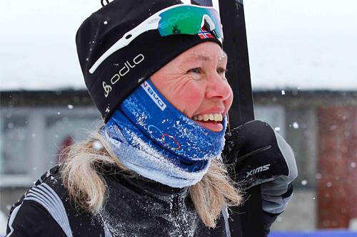 Inger Synnøve Liset raskeste dame i HelteRennet 2012. Foto: Guro Lien.