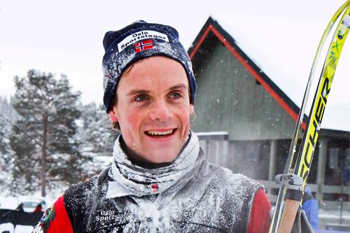 Erling Christiansen vinner av HelteRennet 2012. Foto: Guro Lien.