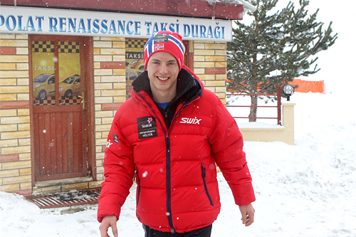 Mathias Rundgreen var klart best i Juleskirennet 2012. Her er han under U23 VM i Tyrkia forrige vinter. Foto: Erik Borg.