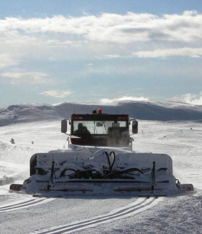 Løypekjøring Nordfjellet