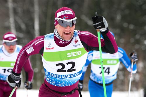 Svein Tore Sinnes underveis i Tartu 2012. Foto: Laiho/NordicFocus.