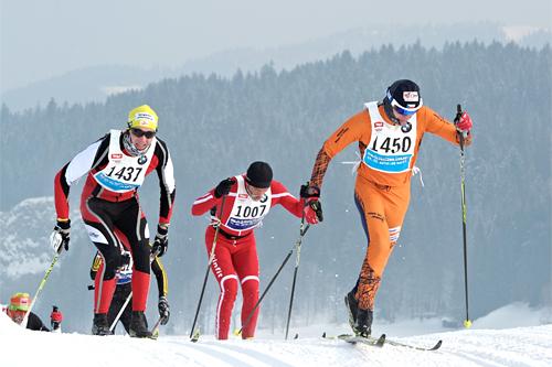 Deltakere i Int. Tiroler Koasalauf 2012. Foto: Felgenhauer/NordicFocus.