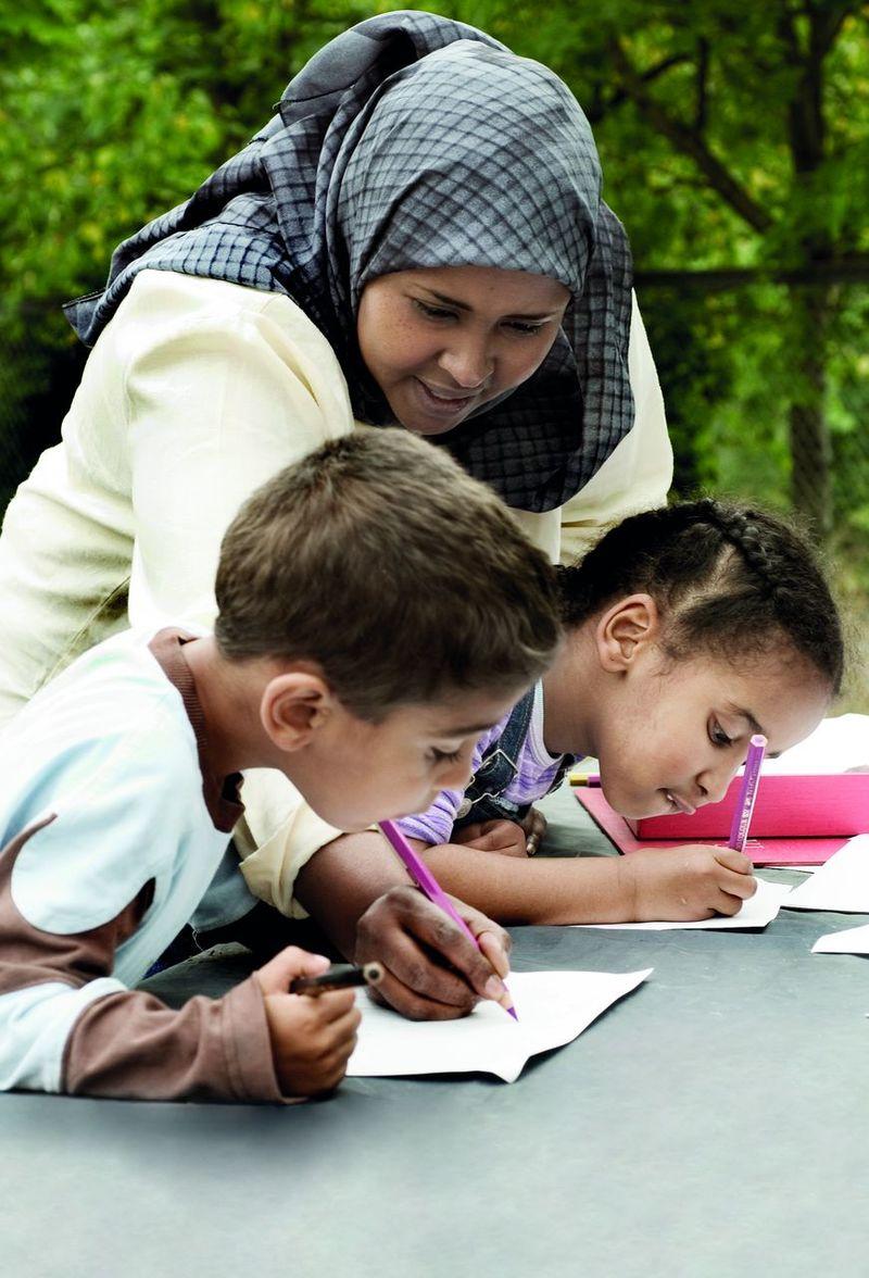 Hjem-skolesamarbeid, Nafo hefte forsidebilde
