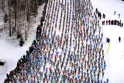 Illustrasjonsbilde fra Vasaloppet. Foto: Schmidt/NordicFocus.