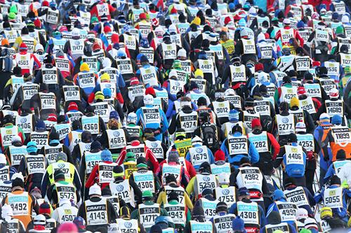 Vasaloppet 2012. Foto: Hemmersbach/NordicFocus.
