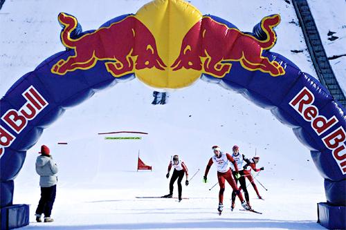 Red Bull NordiX i Holmenkollen. Arrangørfoto.