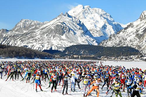Illustrasjonsbilde fra Engadin Skimarathon. Foto: swiss-image.ch/NordicFocus.