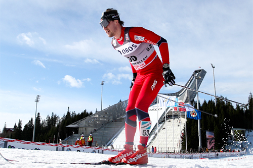 John Kristian Dahl på 5-mila i Holmenkollen 2012. Foto: Laiho/NordicFocus.