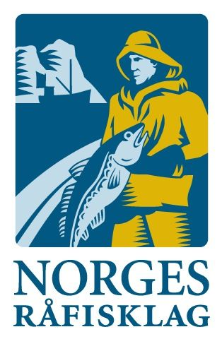 Norges råfisklag stående logo