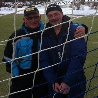 Jarle Mollan og Joar Buarø hjemmesiden