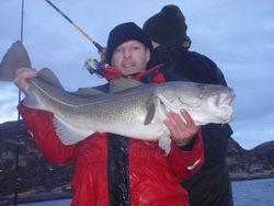 Christian Hoffmeyer, cod 15 kg