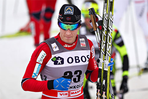 Petter Eliassen på 5-mila i Holmenkollen 2012. Foto: Laiho/NordicFocus.