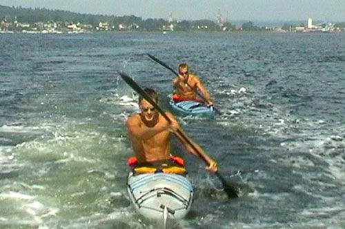 Jørgen Aukland og Anders Aukland. Foto: Privat.