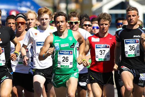 Eldar Rønning i grønt med startnr. 26. Foto: Aapo Laiho.
