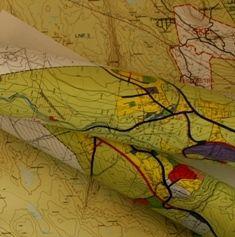 Illustrasjon kart