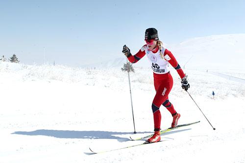 Ragnhild Haga under U23 VM i Tyrkia 2012. I dag vant hun Åsenrennet i Nannestad. Foto: Erik Borg.