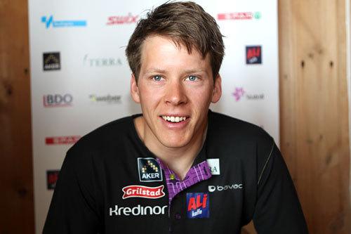 Anders Gløersen på landslagets samling ved Sognefjellshytta. Foto: Erik Borg.