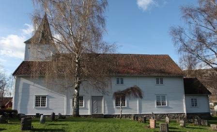 Lund kirke (Bilde: Lund menighet)