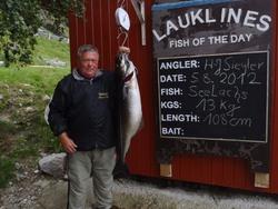 Hans Siegler sei 13 kg