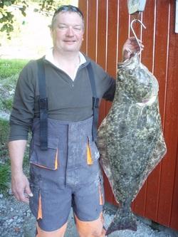 Michael Poole Halibut 16kg