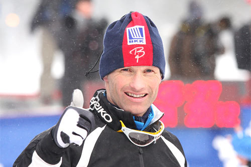 Kristen Skjeldal etter sin 9. plass på 15 km fristil under NM på Voss 2012. Foto: Geir Nilsen/Langrenn.com.