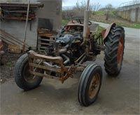 Gammel traktor
