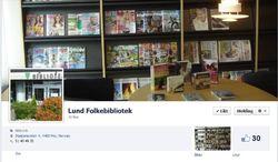 Lund folkebibliotek- facebook