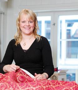<br> Lærling Stine Merethe Larsen